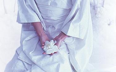 Savannah with white lotus